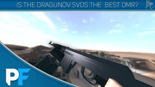 Dragunov SVDS vs Vss Vintores Roblox Phantom forces
