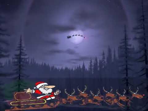 Frohe Weihnachten 2017 Weihnachtsmann - Merry Christmas Sant