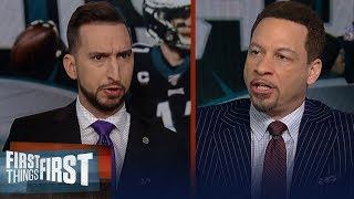 Download Broussard convinced Cowboys will win NFC East after Eagles game vs Giants | NFL | FIRST THINGS FIRST Mp3 and Videos