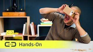Google Cardboard VR-Brille selbst gebaut | deutsch