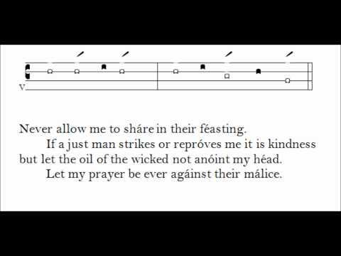 The Clayton Psalm Tones -- Mode 5