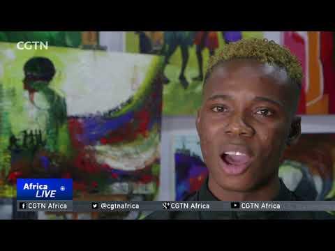 Nigerian painter seeks to transform art scene through paintings