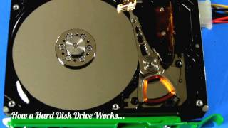 How a Hard Disk Drive Works...