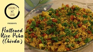 How to make quick Flattened Rice Poha thumbnail