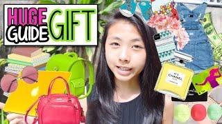 ❄ 50 Birthday / Holiday Gift Ideas For Friends & Family: Beauty, Tech, DIY, Etc. | AlohaKatieX ❄