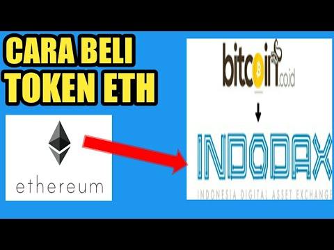 Cara membeli token ETH ( ETHEREUM ) di indodax