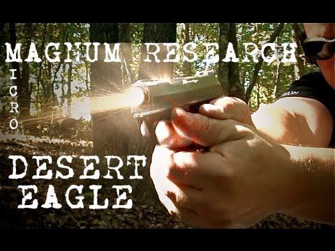 Micro Desert Eagle .380 Review