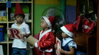 Mother Teresa Academy  Christmas Alphabet Song