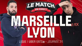 🔴 Marseille - Lyon avec Momo Henni / Le Match en direct (Football)