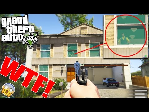 """GTA 5 HELLO NEIGHBOUR EASTER EGG """"What's Inside Will Shock You"""" (Scary)"""