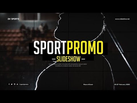 Sport Promo Slideshow | After Effects template