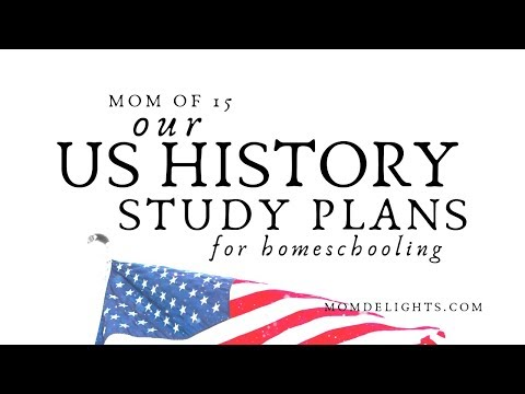 Our US History Curriculum Plans