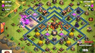 clash of clans ¨when it's hard to lure cc troops and heroes¨
