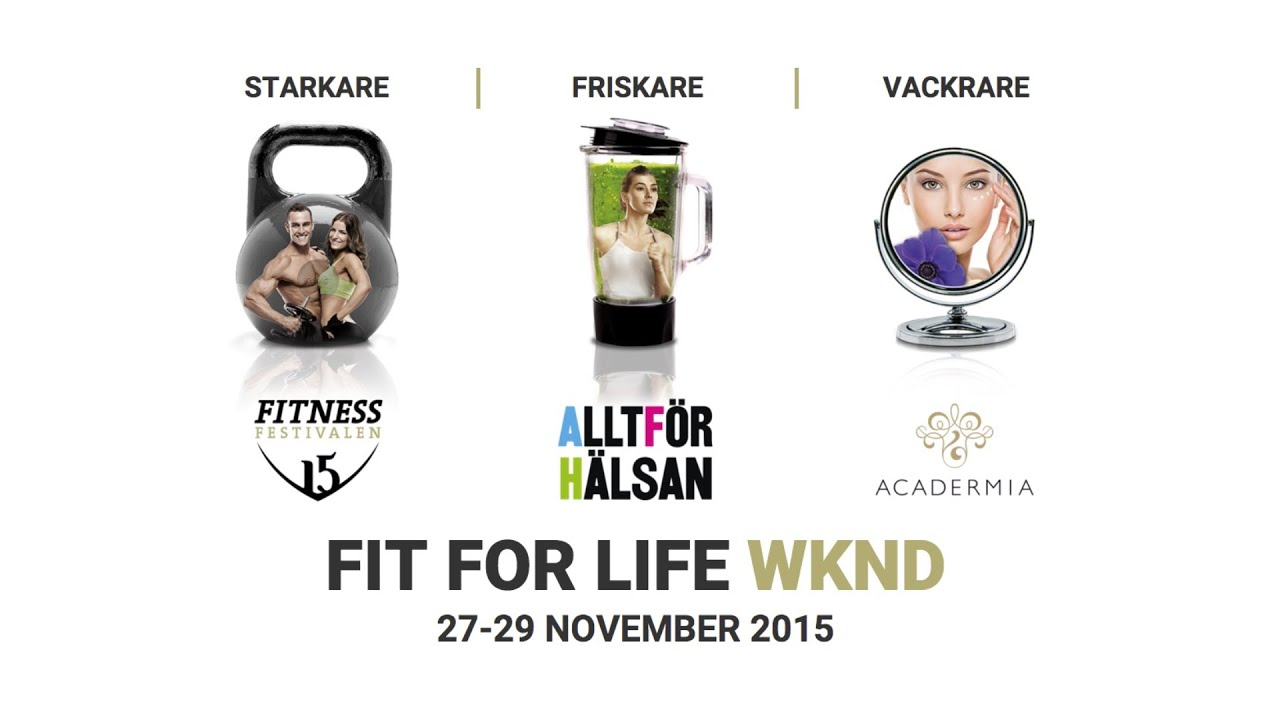 fit for life wknd