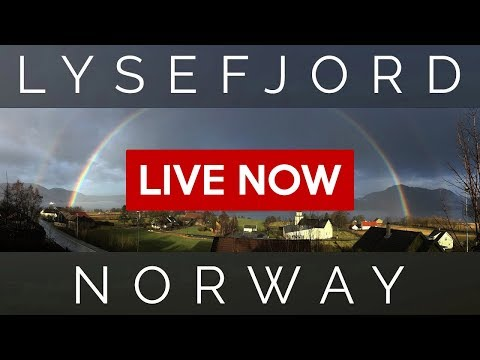 Lysefjord, Norway - Live!