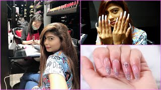 My First Time Nail Extension Experience 💅 | Rinkal Soni