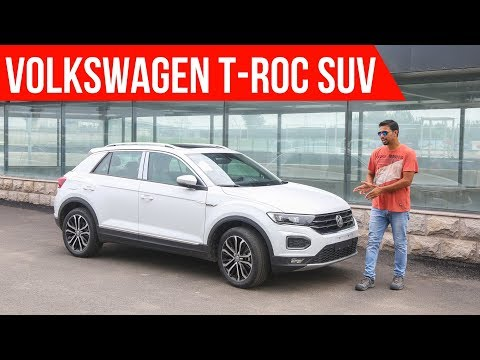 Volkswagen T Roc India Launch in 2020 - Walkaround