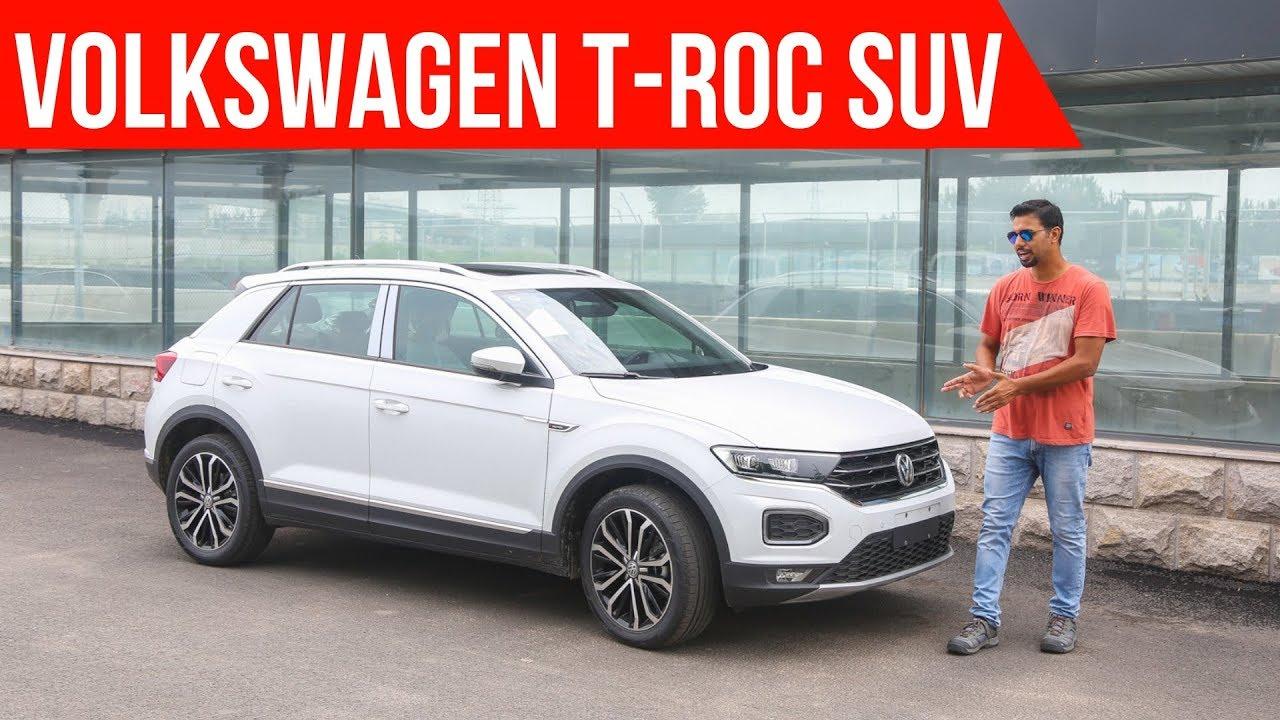 Volkswagen T Roc India Launch In 2020 Walkaround Youtube