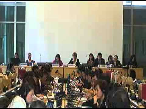 UN Committee on Rights of the Child 2013 Review of China—Day 1