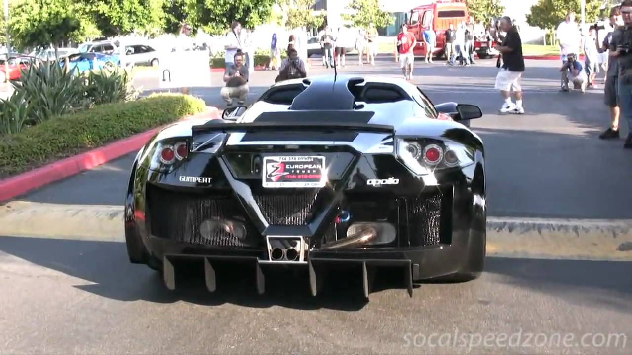 Gumpert Apollo At Cars And Coffee In Socal Youtube