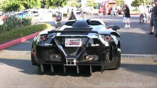 Gumpert Apollo at Cars and Coffee in SoCal