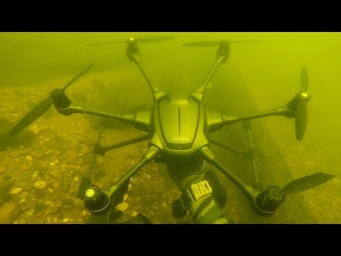 I Found a Crashed Drone Underwater While Scuba Diving! Returned to Owner
