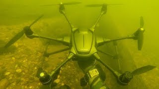 I Found a Crashed Drone Underwater While Scuba Diving! (Returned to Owner)