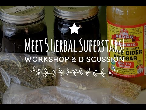 5 Herbal Superstars - Upcoming Workshop!