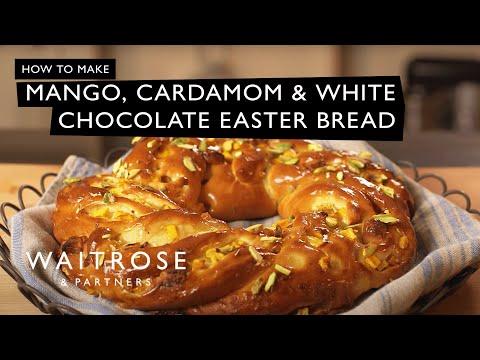 Mango, Cardamom and White Chocolate Easter Bread | Waitrose