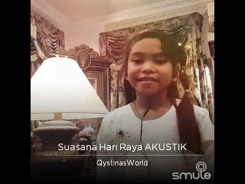 Suasana Hari Raya AKUSTIK | Cover by Qystina | Anuar & Elina