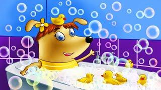 Щенки Бублик и Кисточка - мультики для детей. Семейка Собачек - мультики для малышей. 2 лучших серий