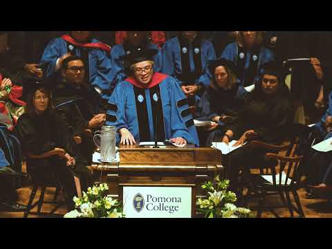 Pomona College Convocation 2017: President G. Gabrielle Starr