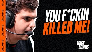 'You f*cking KILLED me!' | Fnatic Voice Comms - LEC Spring (FNC vs OG)