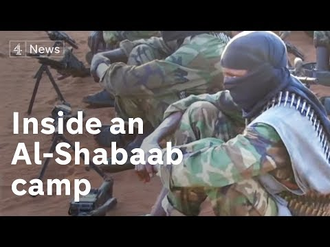 Inside an Al-Shabaab training camp - YouTube