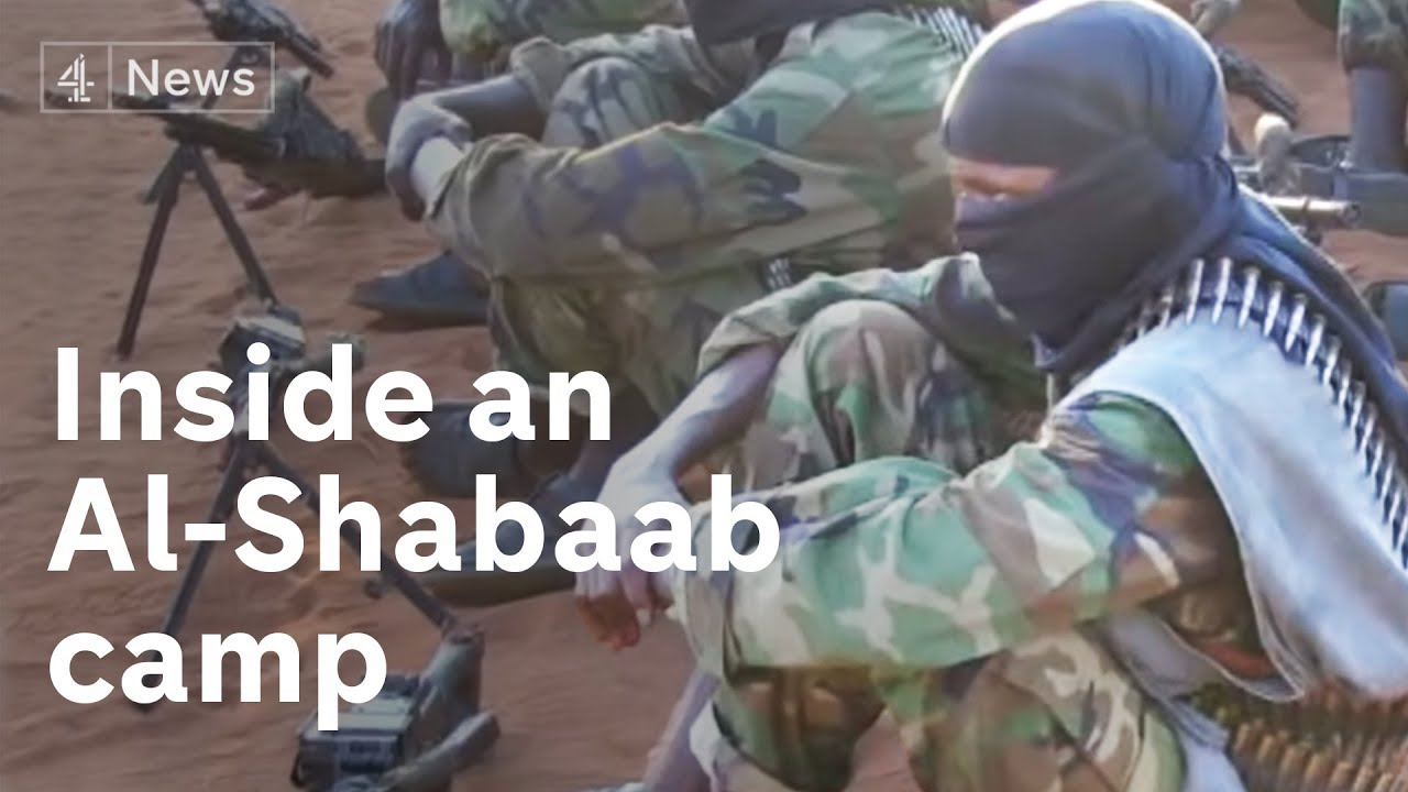 Inside an Al-Shabaab training camp