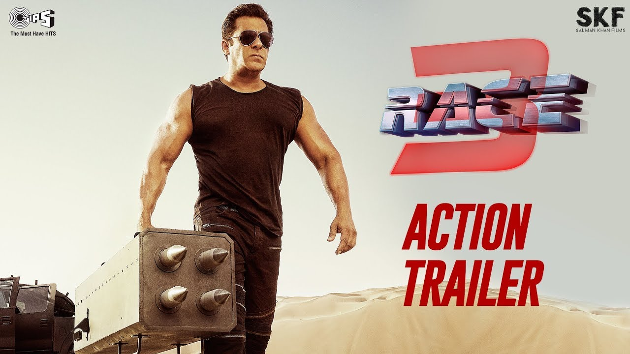 Race 3 Action Trailer | Salman Khan | Remo D'Souza | Bollywood Movie 2018 | 15th June 2018