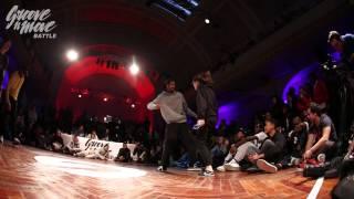 GROOVE'N'MOVE BATTLE 2015 - HIp-Hop quarter-final / Ines&Karim vs Pascal&Nora