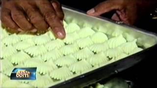 feito de amido de milho manteiga e leite de côco o famoso bolo de goma de maragogi faz parte da