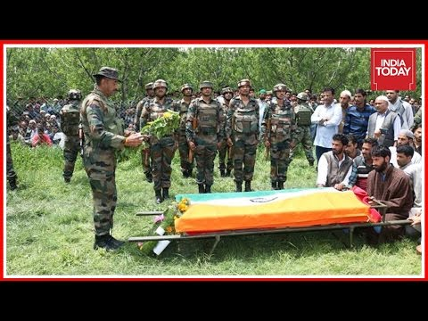Security Forces Identify Murders Behind The Killing Of Army Officer In Kashmir