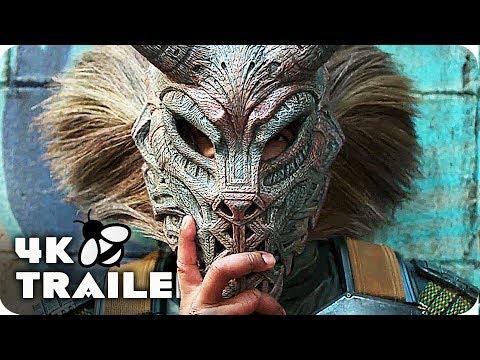 BLACK PANTHER Trailer 4K UHD (2018) Marvel Movie