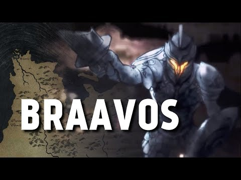 Braavos - Map Detailed (Game Of Thrones)