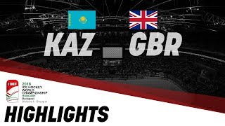 Kazakhstan - Great Britain   Highlights   2018 IIHF Ice Hockey World Championship Division I Group A thumbnail
