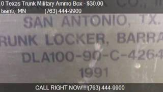 0 texas trunk military ammo box for sale in isanti mn 5504