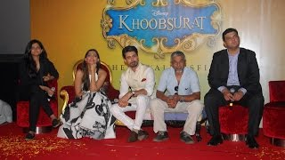 Sonam Kapoor & Fawad Khan At Trailer Launch Of Movie Khoobsurat