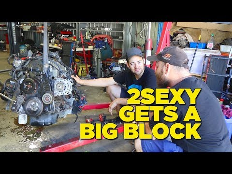 2Sexy Big Block Engine Swap