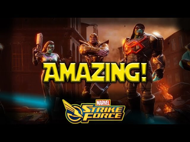Minn-Erva + Thanos + Oracle + Ronan = Amazing  MARVEL Strike Force - MSF