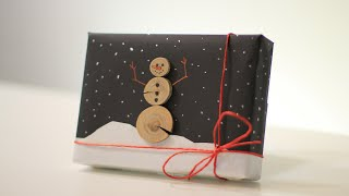 How to Wrap a Gift for Guys- 12th DIY of Christmas