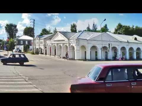 Виды Галича Костромской области 2013