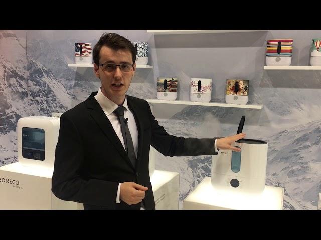 BONECO U300 and U350 Ultrasonic Humidifier explained