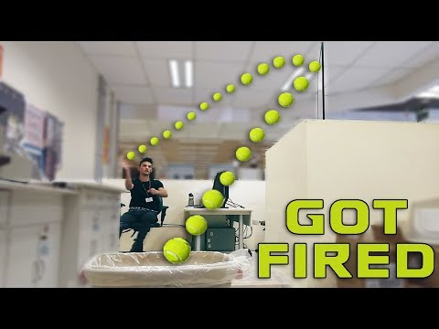Real Life Trick Shots | Office Edition